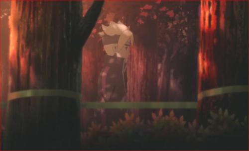 アニメBORUTO72話、下忍が襲われた現場に行ってみるボルト