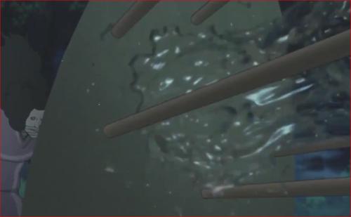 アニメBORUTO72話、土の壁で遮断され失敗