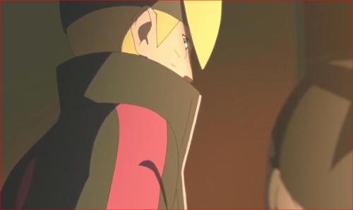 アニメBORUTO72話、大人しくしてるってばさ