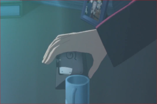 アニメBORUTO72話、火影室からミツキの額当てを盗むボルト