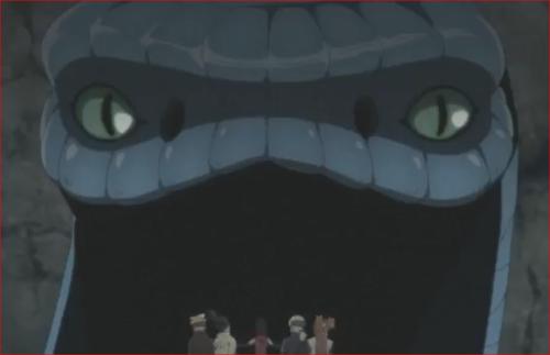 アニメBORUTO76話、あなた、ワタシを守ってくれたの?
