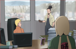 アニメBORUTO76話、シカマルの現状分析