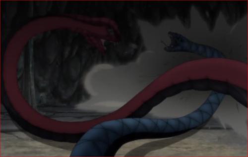 アニメBORUTO76話、叩き飛ばされるアオダ