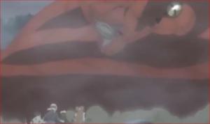 アニメBORUTO76話、壁と思ったのはガラガだった
