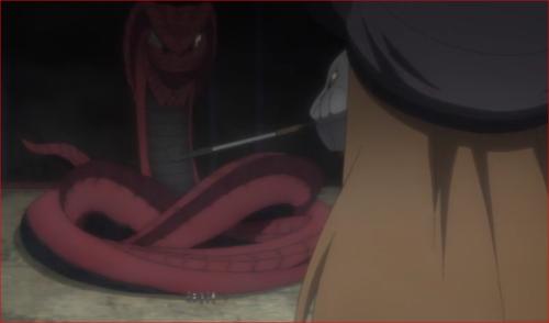 BORUTO77話、ガラガと白蛇仙人