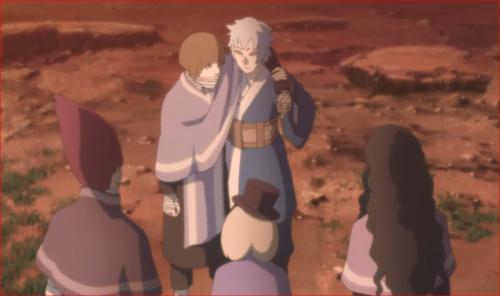 アニメBORUTO第80話、これで僕らも友達だね
