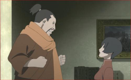 アニメBORUTO第80話、そんなことはないとムキになる赤ツチ