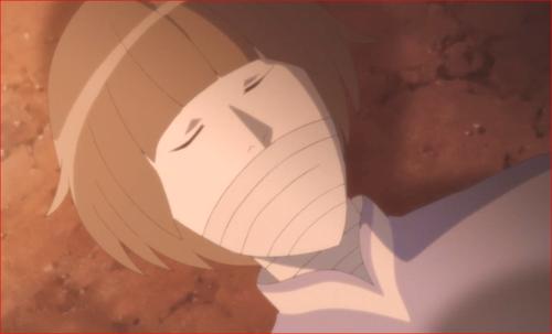 アニメBORUTO第80話、ひび割れが修復したセキエイ