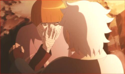 アニメBORUTO第80話、キミは運が良いよねボクが死ねば…