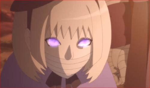 アニメBORUTO第80話、コイツの目はキレイだけど、信用できない