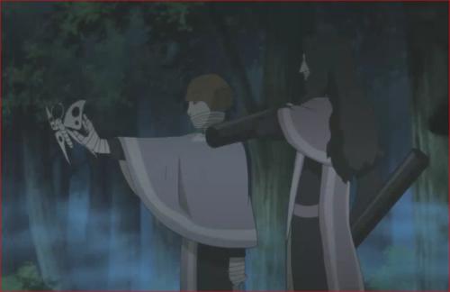 アニメBORUTO第80話、コクヨウとセキエイが、止めを刺そうとしたとき…