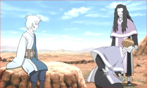 アニメBORUTO第80話、コクヨウの合図で出発しようと…