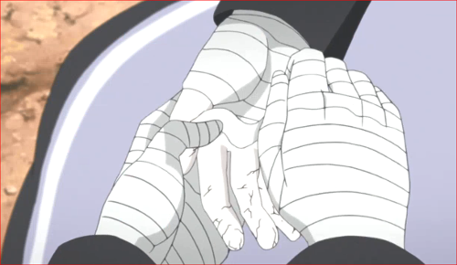 アニメBORUTO第80話、セキエイの手がヒビだらけ…