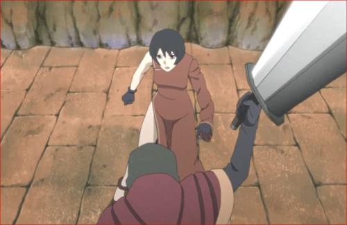 アニメBORUTO第80話、剣を振りかざす空
