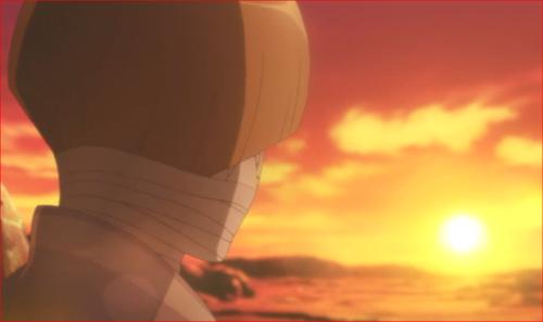 アニメBORUTO第80話、夕日、何も感じないや