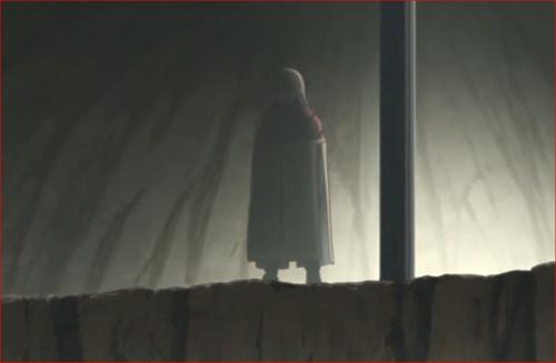 アニメBORUTO第80話、大量のアクタを見下ろす空