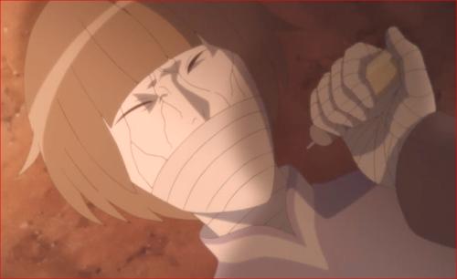 アニメBORUTO第80話、注射を打てないでしょ!