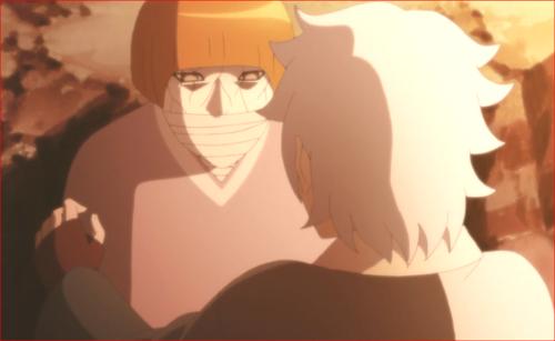 アニメBORUTO第80話、行けよ、キミは木ノ葉の忍なんだろ?