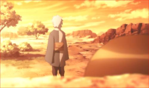 アニメBORUTO第80話、諦めない方が良い、そう言ってどこかに行くミツキ…