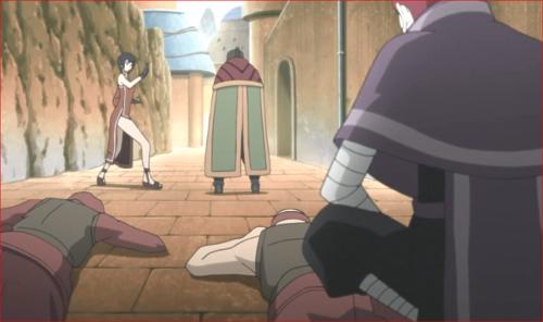 アニメBORUTO第80話、警護の者たちは倒されていた