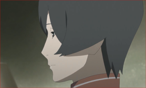 アニメBORUTO第80話、赤ツチ、オマエが付いていてくれて助かるよ