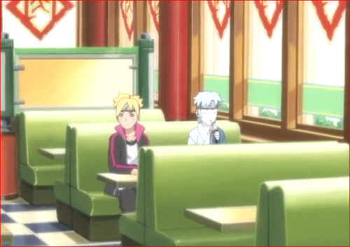 アニメBORUTO81話、いつの間にか、ミツキと二人だけに?
