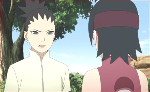 アニメBORUTO81話、この平和な時代に形振り構わず手荒な手を使ってきたんだ。