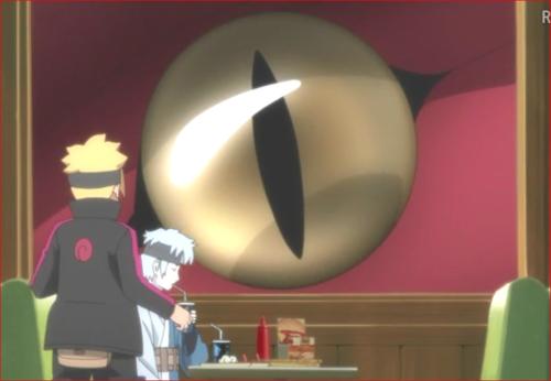 アニメBORUTO81話、こんなところに居やがったか、娑婆増