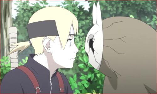 アニメBORUTO81話、ガチでチビ芥と対面するいのじんw
