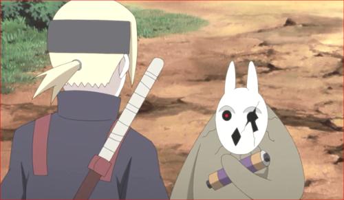 アニメBORUTO81話、ボクは巻物でw