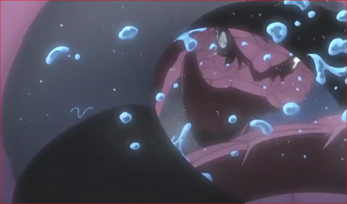 アニメBORUTO81話、再びボルトを襲うガラガ