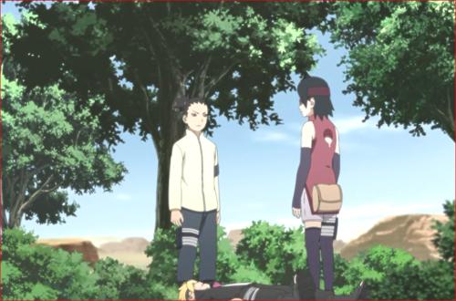 アニメBORUTO81話、土の国のヤツラが何か企んでいるのは間違いない