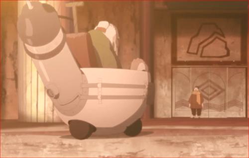 アニメBORUTO82話、オオノキを呼び止める赤ツチ