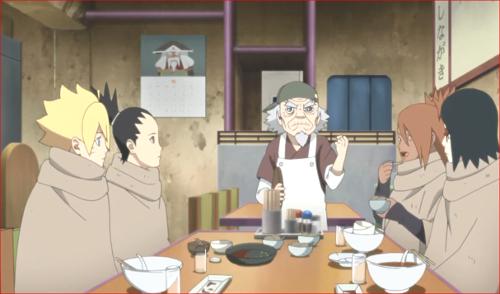 アニメBORUTO82話、オオノキ様を尊敬しているのじゃ
