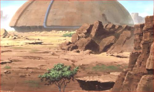 アニメBORUTO82話、岩隠れの里の傍