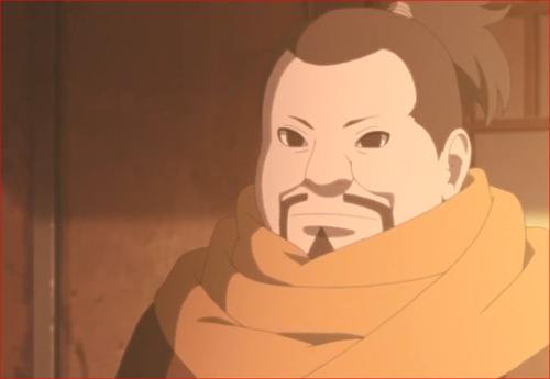 アニメBORUTO82話、表向きは、視察に出ていることになっているダニ