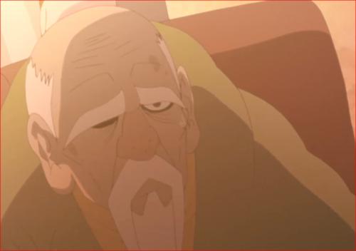 BORUTO84話、大人しくしていれば危害は加えないというオオノキ
