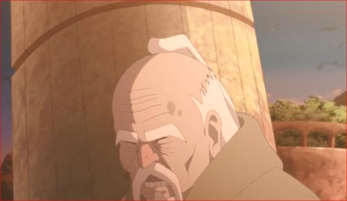 BORUTO84話、柱がオオノキを直撃か!