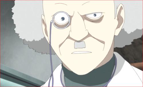BORUTO84話、険しい顔をするドクター