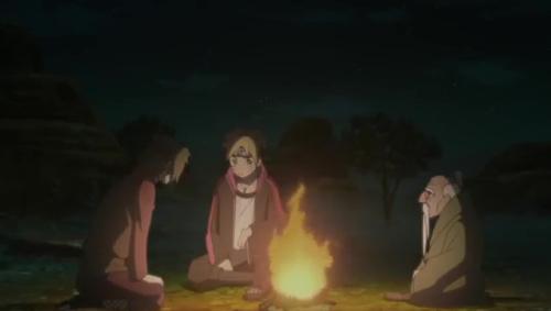 Boruto 85_オオノキの爺さんはなぁ…
