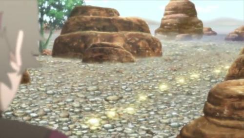 Boruto 85_光る石の道しるべ?!
