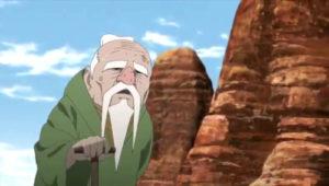 boruto_87.杖を突きよたよたと歩くオオノキ
