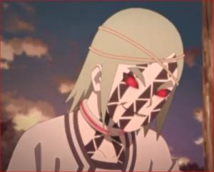 アニメBORUTO登場人物・モモ呪印状態1