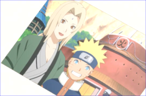 アニメBORUTO第127話、綱手と少年期のナルト