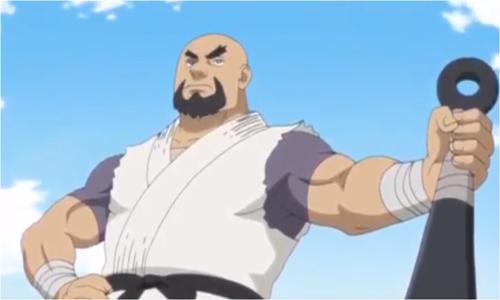アニメBORUTO登場人物・道場破りの雲隠れの里・ガタイ