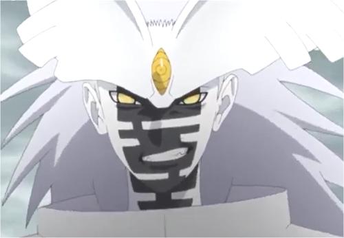 アニメBORUTO135話、形態変化したウラシキ