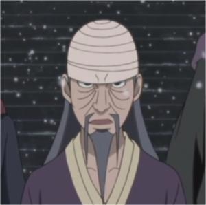 NARUTO登場人物・侍大将ミフネ