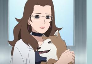 アニメBORUTO登場人物、犬塚アキタと忍犬・茶丸