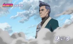 アニメBORUTO186話、ボルトたちと戦う青