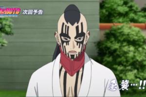 アニメBORUTO203話、アイキャッチ画像、うずまき家を急襲するジゲン